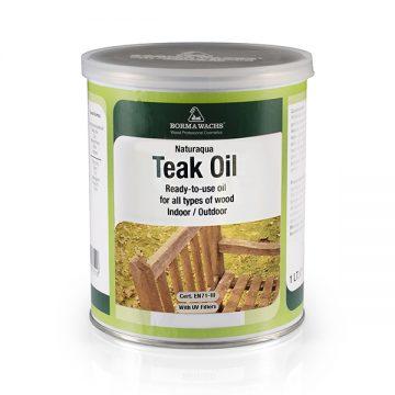 Водоразбавимое тиковое масло Naturaqua Teak Oil BORMA-NAT0360