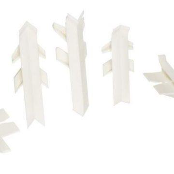 Комплект соединителей к бортику Перфетто лайн / SB 135 91115 белый