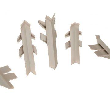 Комплект соединителей к бортику Перфетто-лайн / SB 135 98138 серый