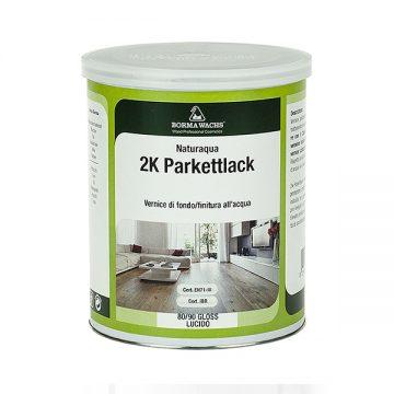 Водоразбавимый лак для паркета ПУ 2К Naturaqua Parkettlack 2k BORMA-NAT41002K-XX