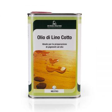 Льняное кипяченое масло Boiled Linseed Oil BORMA-3980
