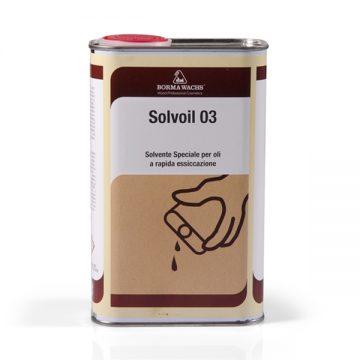 Специальный быстросохнущий растворитель для масел Solvoil 03 BORMA-4930.03