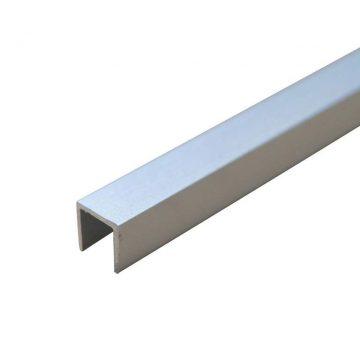 Торцевая П-образная планка для стеновых панелей, 600×6мм