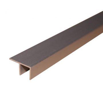Угловая F-образная планка для стеновых панелей, 600х6мм