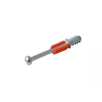 Дюбель ввинчиваемый FIRMAX D 7.3×34 мм, сталь+пластик, крест, цинковое покрытие