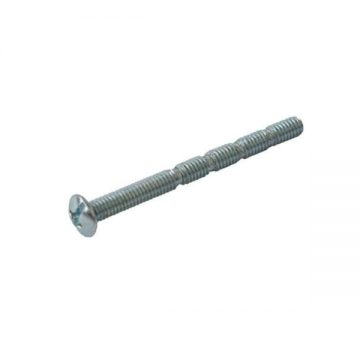 Винт для ручек М4*45, вариационный, сталь, оцинкованный FIRMAX
