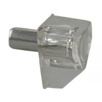 Полкодержатель FIRMAX, цинк, пластик транспарент