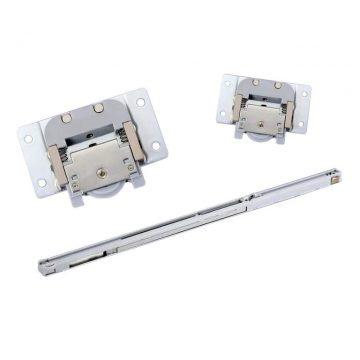 FM309 Комплект врезных роликов и доводчиков на 1 дверь, FIRMAX.