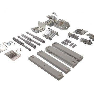 FM509 Комплект накладных роликов и доводчиков на 2 двери., FIRMAX.