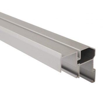 FM509 Направляющая нижняя, накладной монтаж, серебро, L=3000 мм, FIRMAX.