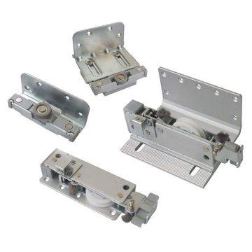 FM602 Комплект накладных роликов и доводчиков на 2 двери., FIRMAX.