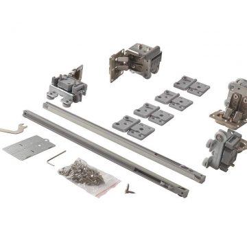 FM902 Комплект накладных роликов и доводчиков на 1 складную дверь, FIRMAX.