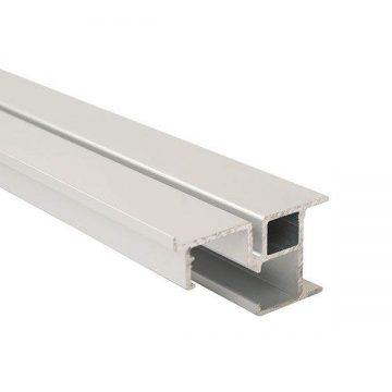 FM902 Направляющая нижняя, накладной монтаж, серебро, L=3000 мм, FIRMAX.