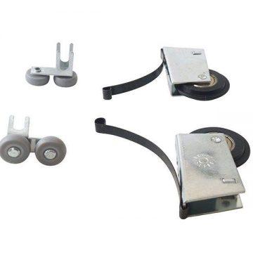 Комплект роликов на асимметричную дверь ЭКОНОМ (2+2+сб.винты)