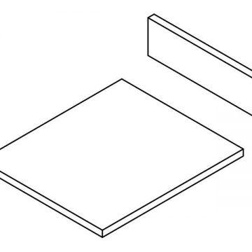 Комплект ЛДСП для ящика под духовку FRM0366, L=500 W=600 H=54