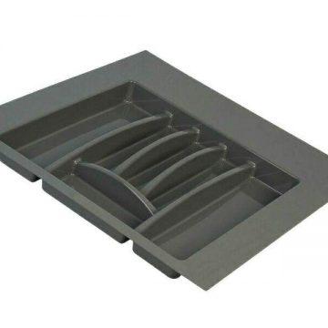 Лоток для столовых приборов Firmax, база 500-550мм, антрацит