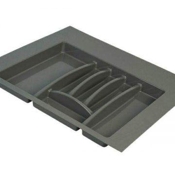 Лоток для столовых приборов Firmax, база 600 мм, антрацит