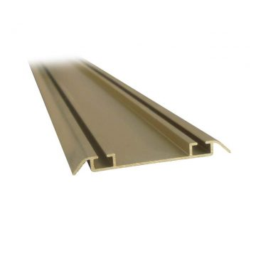Направляющая нижняя, алюминий, золото, 5800 мм