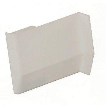 Накладка декоративная для навеса 801, белая, левая