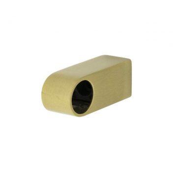 Крепёж для рейлинга прямоугольный бронза