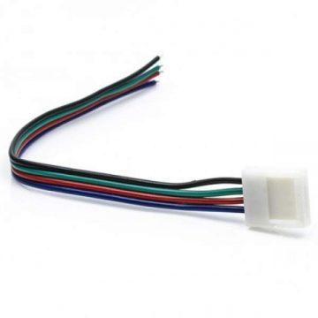 Коннектор для ленты RGB SMD5050 провод 15 см к БП