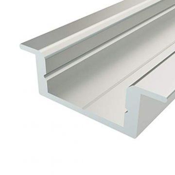 Профиль врезной алюминиевый ВП-1, 22х7 мм, L-2000