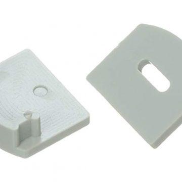 Заглушка торцевая для профиля НП-2, c отверстием