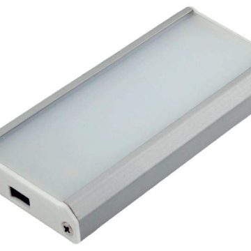 FIALIS LED светильник аккумуляторный c ИК выключателем, серебристый, теплый белый 3000K, 50Lm, 0.8W