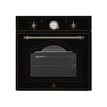 Духовой шкаф EDM 6070 С BL, ширина 600 мм, черный