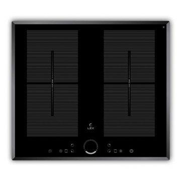Варочная панель индукционная EVI 640 F BL, черный