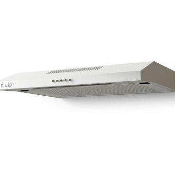 Вытяжка плоская S 500 WHITE, ширина 500 мм, белый