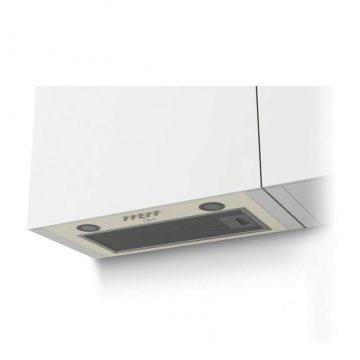 Вытяжка встраиваемая GS BLOC P 600 Ivory Light, ширина 525 мм, белый антик
