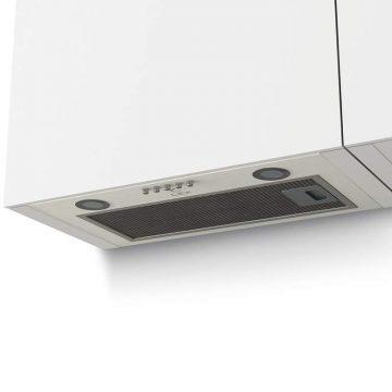 Вытяжка встраиваемая GS BLOC P 600 WHITE, ширина 525 мм, белый