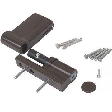 Петля дверная AT DHV, наплав 15-20 мм, для дверей массой до 120 кг, коричневый