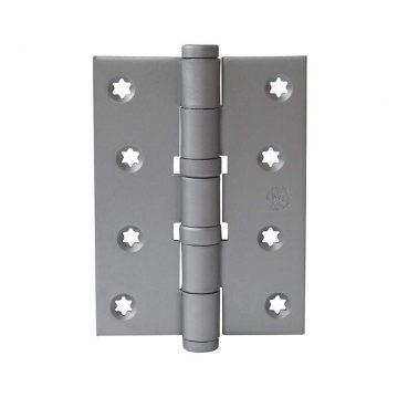 Петля карточная, универсальная 101х76х3 мм для дверей до 65 кг, плоская пешка, хром матовый