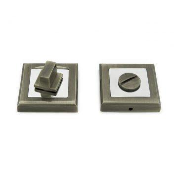 Завертка сантехническая, квадрат, античная бронза