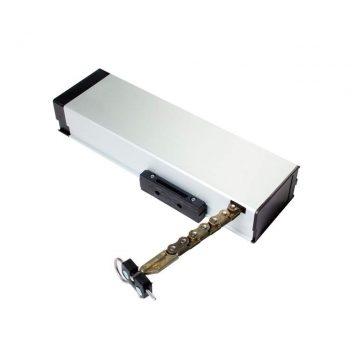 Электропривод цепной оконный MAXBAR Smart SINTESI 2000, 230В, анодированный, серебристый