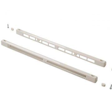 Комплект c контролем потока воздуха: клапан вентиляционный SM Tip Vent + козырек наружный Press, 9-35 m3/ч, белый RAL9016