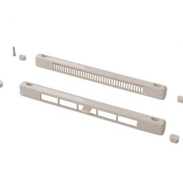 Комплект: клапан вентиляционный SM Tip Vent MINI + козырек наружный TIP, 4-20 m3/ч, белый RAL9016