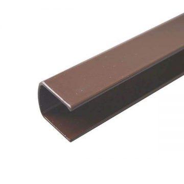 Профиль декоративный для VENTUS, коричневый RAL8017 L=2000