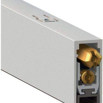 Уплотнитель пороговый, длина 730 мм, в паз 12×28,5 мм