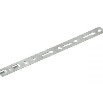Пластина анкерная Elementis для профиля KBE-70 252 мм,толщина 1,2мм (Ширина захвата по внешним краям, 43 мм)