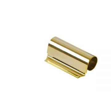Накладка декоративная верхней петли на створке, W KF, золото глянцевое, Siegenia