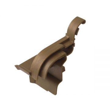 Накладка торцевая АЛЮСТАРТ (D22/20), левая, бронза