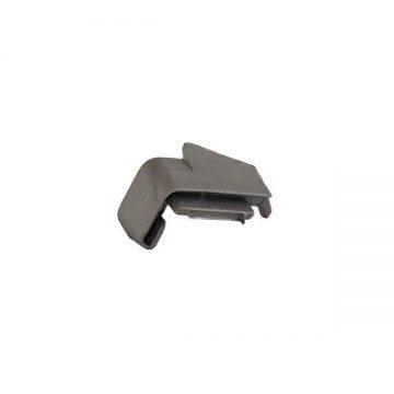 Накладка торцевая на профиль FP-16 серебо, левая