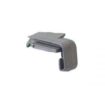 Накладка торцевая на профиль FP-16 серебро, правая