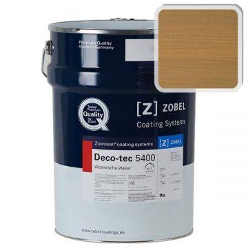 Лак фасадный ZOBEL Deco-tec 5400/5420, Broun 8.00 шелковисто-матовый, 1л