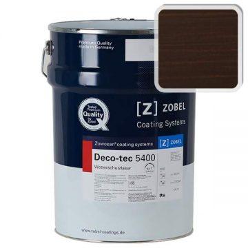 Лак фасадный ZOBEL Deco-tec 5400/5420, Choko шелковисто-матовый, 1л