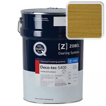 Лак фасадный ZOBEL Deco-tec 5400/5420, Eiche 005, шелковисто-матовый, 1л