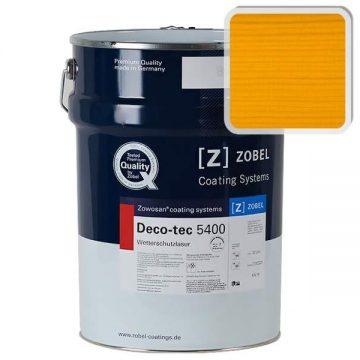 Лак фасадный ZOBEL Deco-tec 5400/5420, Gelb 1.04 шелковисто-матовый, 1л